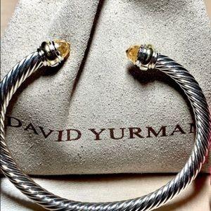 David Yurman cable morganite bracelet